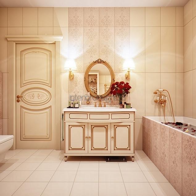 дизайн лучших интерьеров ванных комнат