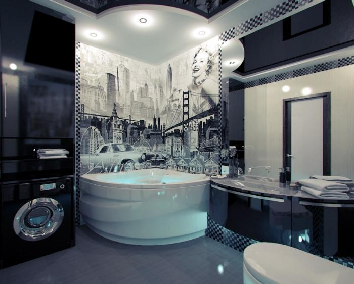 дизайн лучших интерьеров ванных