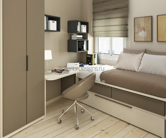 Дизайн интерьера маленьких комнат фото