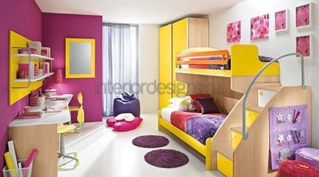 детские комнаты в современном стиле