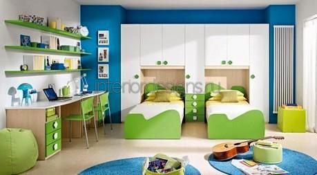 обустройство комнаты для двойняшек
