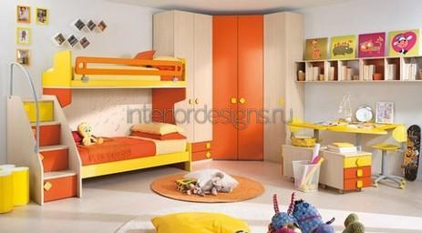 яркие цветовые сочетания в квартире