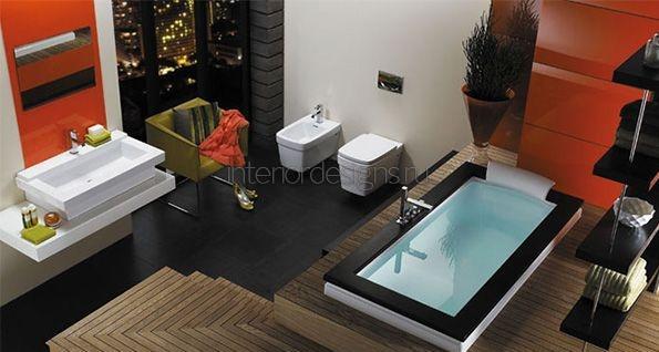 современные идеи дизайна ванной комнаты