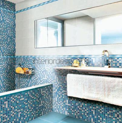 мозаика для интерьера ванной