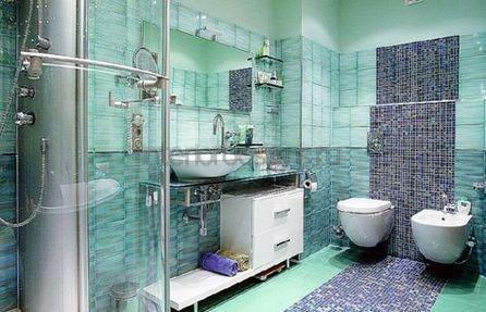 отделка интерьера ванной комнаты мозаикой, мозаика для ванной
