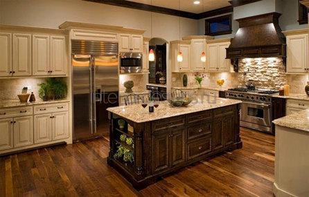 обустройство зоны приготовления пищи в доме