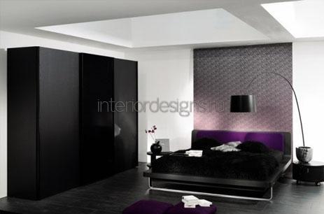 дизайн спальни холостяка