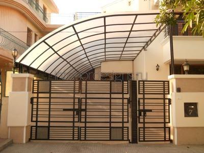Car porch tile modern design joy studio design gallery for Terrace shed designs india
