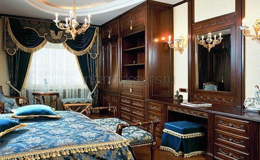 роскошная спальня с трюмо