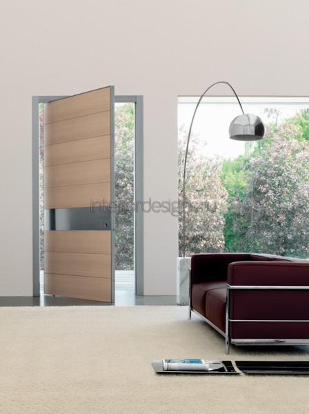 входные двери в стиле минимализм