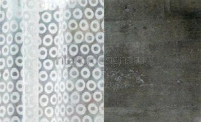 ткань Elitis, на фоне бетонной стены