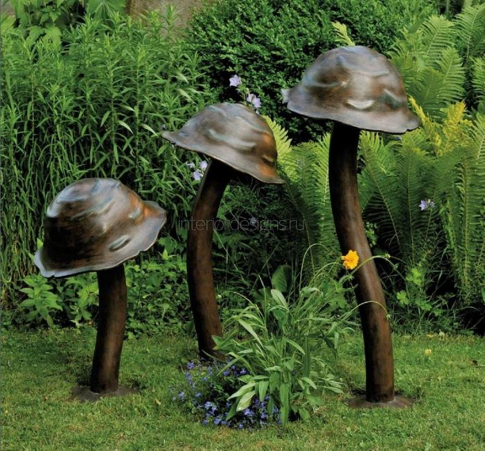 фонарики-грибы