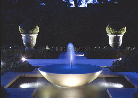 Синий фонтан