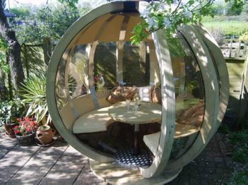 Беседки в ландшафтном дизайне - оформление зоны отдыха