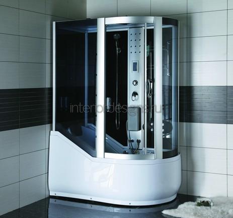 обустройство ванной с душевой кабиной