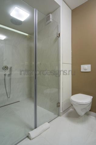 ванная  с душевой и ее дизайн