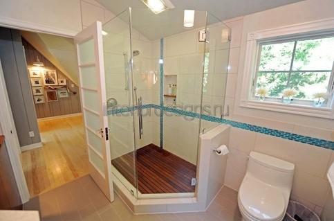 идеи дизайна ванной с душевой кабиной
