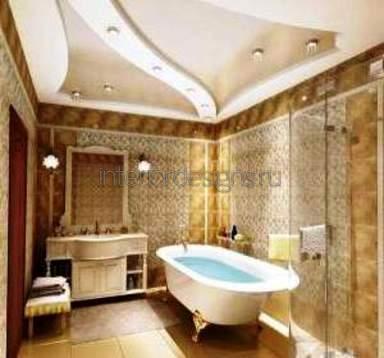 оформление потолка в ванной комнате