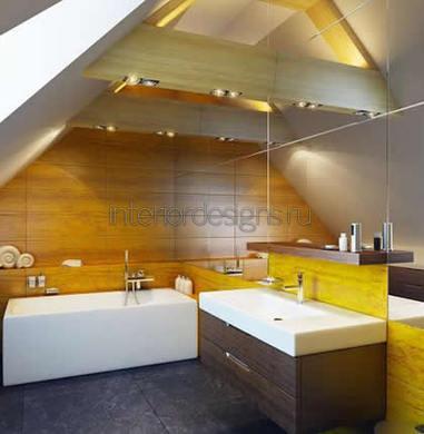 дизайн потолка для ванной комнаты