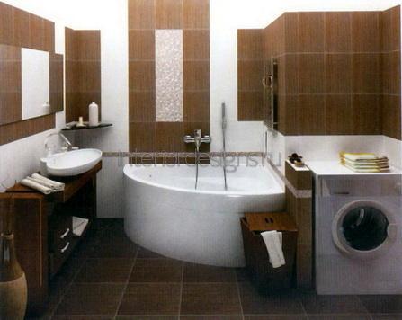 обустройство интерьера ванной комнаты в хрущевке