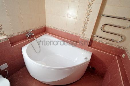проект интерьера ванной комнаты в хрущевке