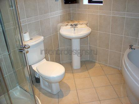 оформление дизайна маленькой ванной