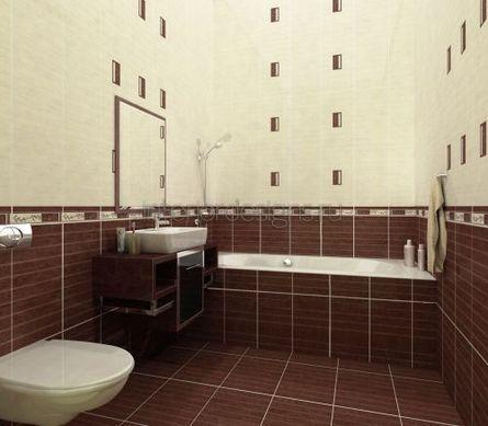 обустройство маленькой ванной