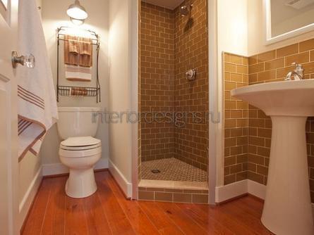 проект-дизайн малогабаритной ванной