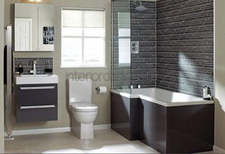 стиль модерн в дизайне малогабаритной ванной