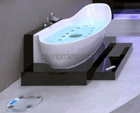 проектирование интерьера маленькой ванной комнаты