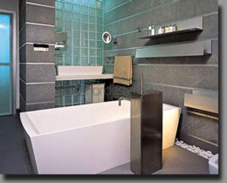 маленькая ванная комната и ее интерьер