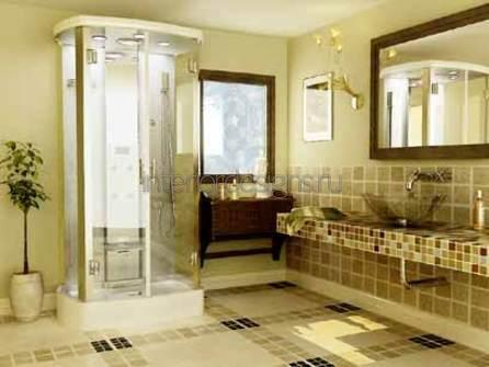дизайн проекта ванной комнаты