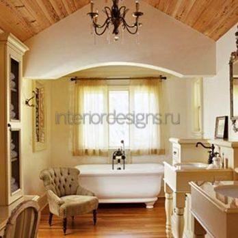дизайн-проект обустройства ванной комнаты