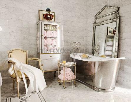 проект дизайна для ванной комнаты
