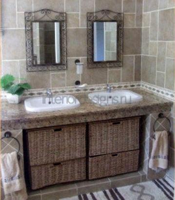 проекты дизайнов ванных комнат