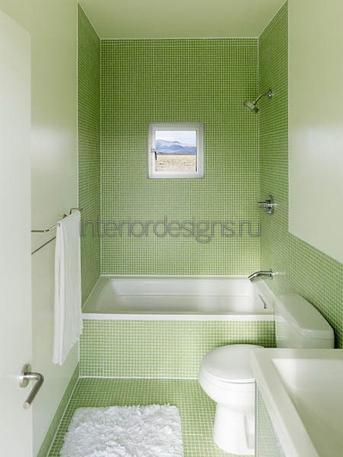дизайн проекта небольшой ванной комнаты