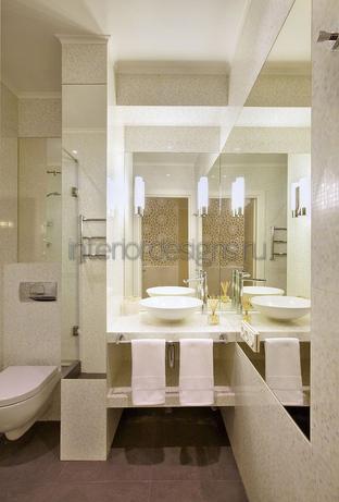 идеи для узкой ванной комнаты