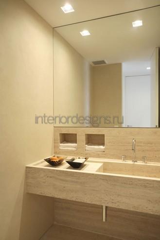 проектирование интерьера для ванной комнаты