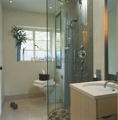 дизайн совмещенной ванной и туалета