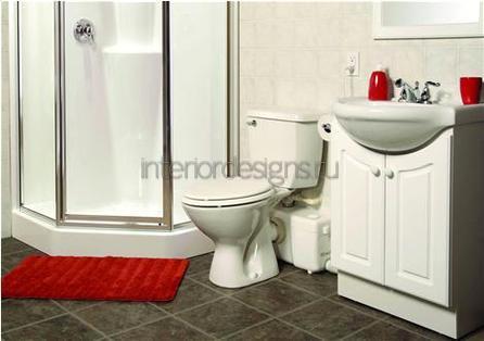 дизайн совмещенных ванных комнат