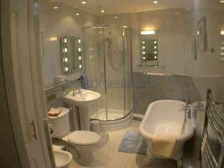 оформление совмещенной ванной