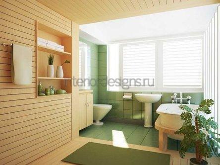 проектирование совмещенной ванной комнаты