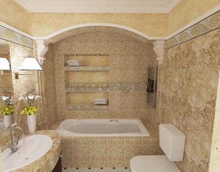 создание дизайна ванной в хрущевке