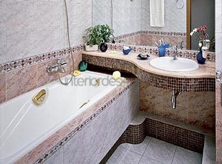 проект-дизайн ванной комнаты в хрущевке