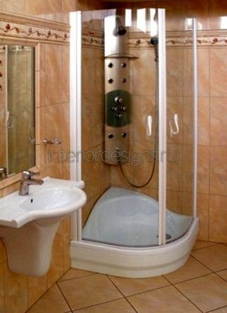 проект-дизайн ванной в хрущевке