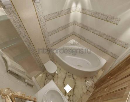 оформление дизайна ванной в хрущевке