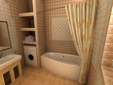 оформление дизайна ванной комнаты в хрущевке