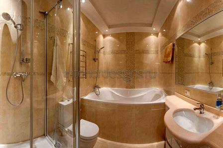 обустройство совмещенной ванной с туалетом