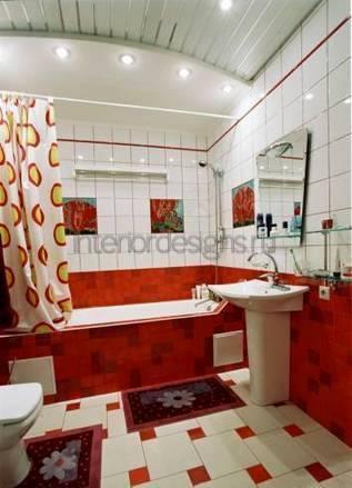 проект-дизайн ванны с туалетом
