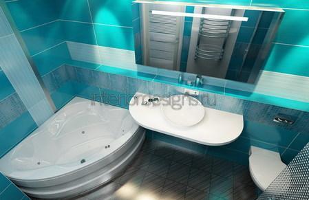 создание дизайна ванной и туалета